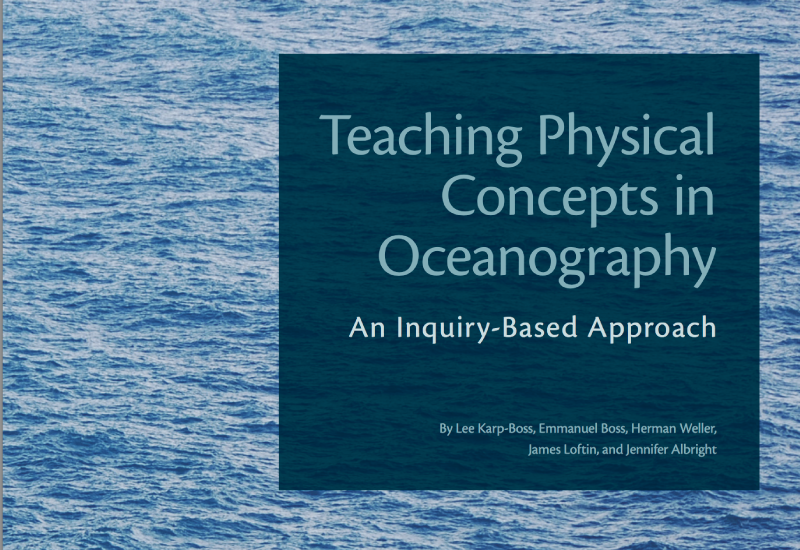 Document cover page: teaching physical concepts in oceanography - 07