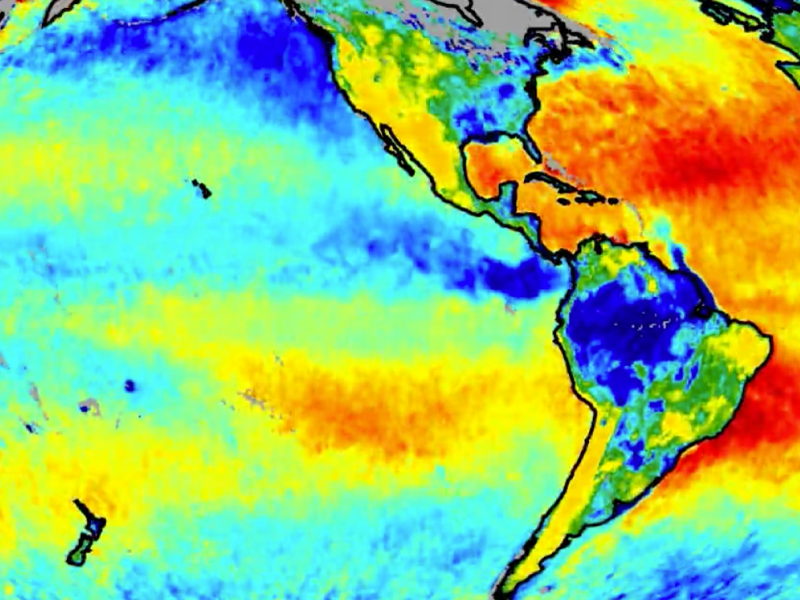 Global view of sea surface salinity and soil moisture