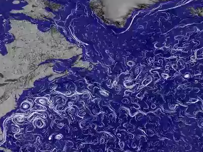 Visualization of ocean currents